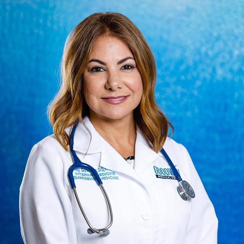 concierge doctor Dr. Nancy Goodwin, DO, FACOEP, FACOI